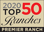 2020 Western Pleasure Guest Ranch Top 50 Award