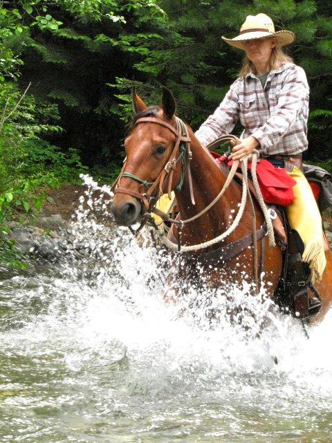 Kim in Grouse Creek