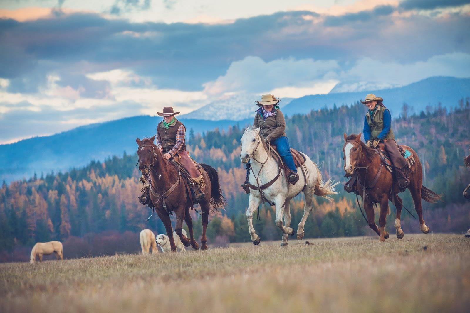 Western Pleasure Guest Ranch Wranglers