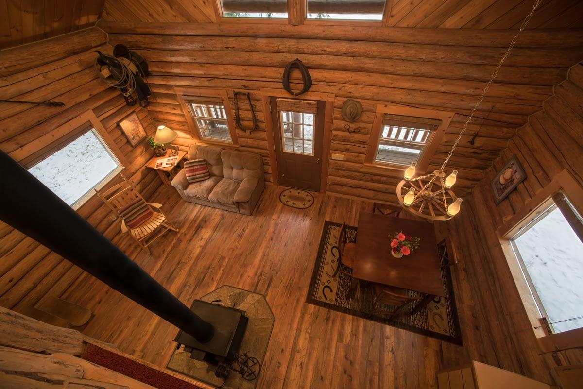 Western Pleasure Guest Ranch Wrangler Cabin