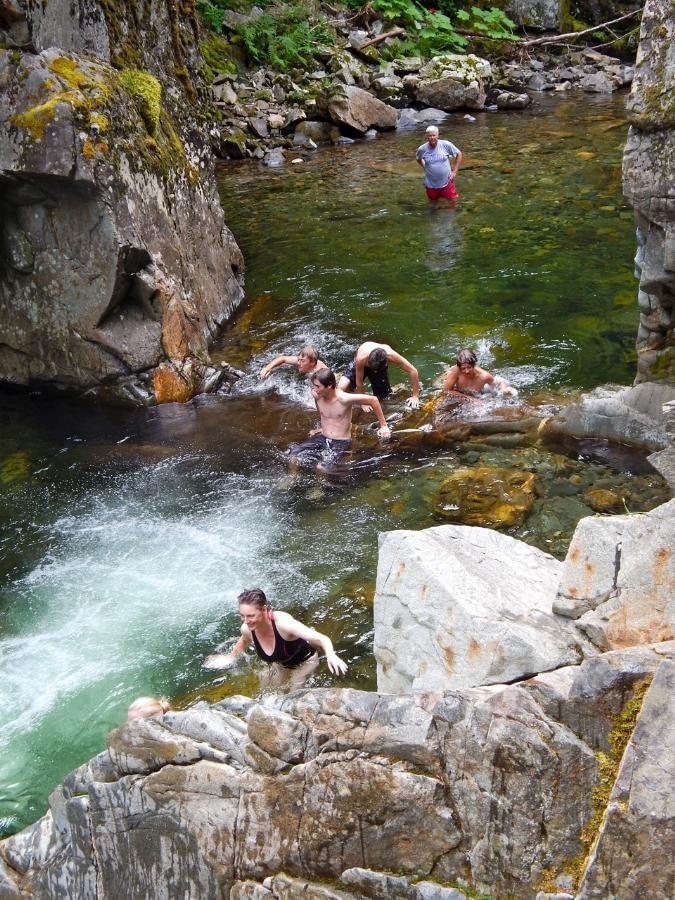Natural Water Swimming